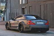 Mercedes SL63 AMG Widebody Platinum Motorsport Tuning 1 190x127 Mega fett   Platinum Motorsport Mercedes Benz SL63 AMG