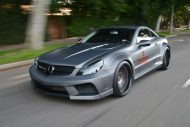 Mercedes SL63 AMG Widebody Platinum Motorsport Tuning 12 190x127 Mega fett   Platinum Motorsport Mercedes Benz SL63 AMG
