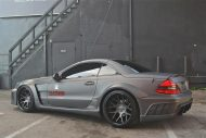 Mercedes SL63 AMG Widebody Platinum Motorsport Tuning 13 190x127 Mega fett   Platinum Motorsport Mercedes Benz SL63 AMG
