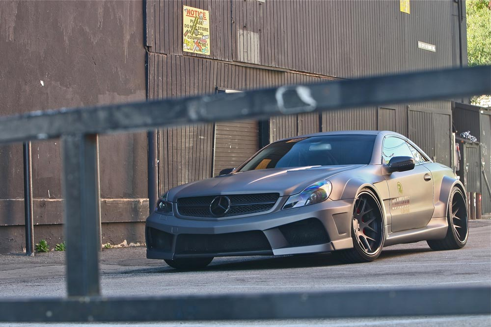 Mercedes SL63 AMG Widebody Platinum Motorsport Tuning 14 Mega fett   Platinum Motorsport Mercedes Benz SL63 AMG