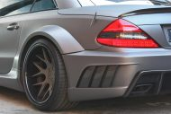 Mercedes SL63 AMG Widebody Platinum Motorsport Tuning 5 190x127 Mega fett   Platinum Motorsport Mercedes Benz SL63 AMG