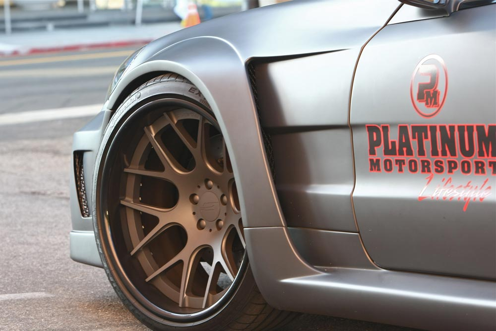 Mercedes SL63 AMG Widebody Platinum Motorsport Tuning 6 Mega fett   Platinum Motorsport Mercedes Benz SL63 AMG