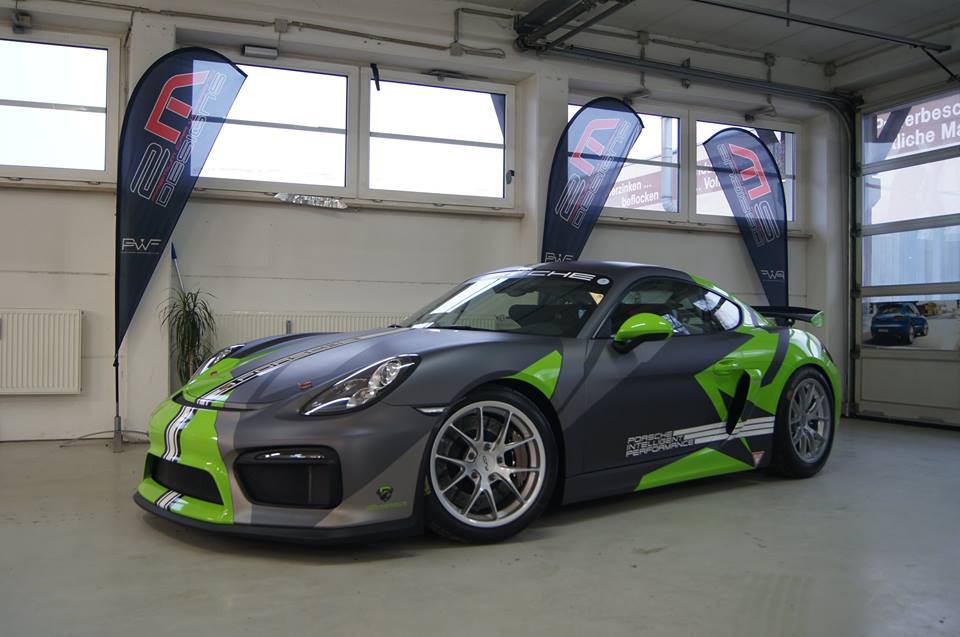 Highly Visible 2m Designs Porsche Cayman Clubsport Gt4