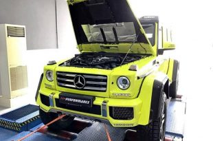 PP Performance Mercedes Benz G 500 4x4² 2 310x205 PP Performance Mercedes Benz G 500 4x4² mit 500PS & 724NM