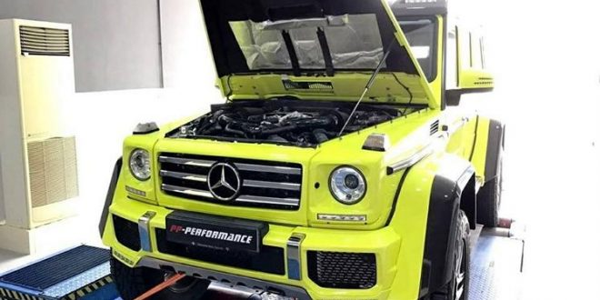 PP-Performance Mercedes-Benz G 500 4×4² mit 500PS & 724NM
