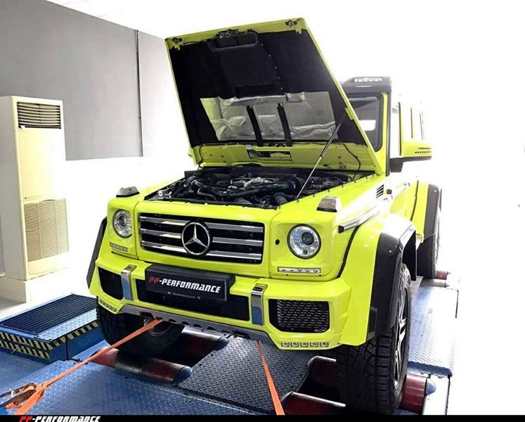 PP Performance Mercedes Benz G 500 4x4² 2 PP Performance Mercedes Benz G 500 4x4² mit 500PS & 724NM