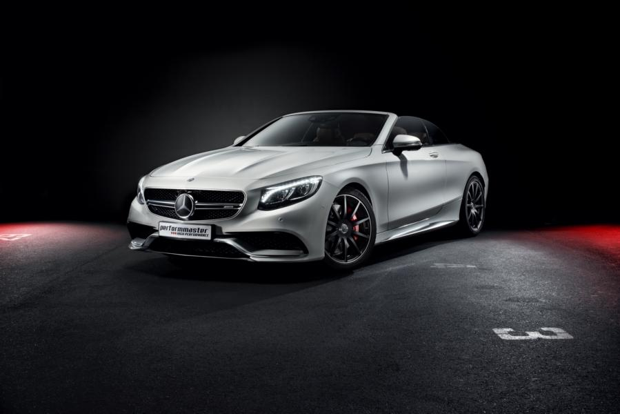 Performmaster Mercedes A217 S63 AMG Coupe Chiptuning 2 320km/h im Mercedes S63 AMG Cabrio (A217) von Performmaster
