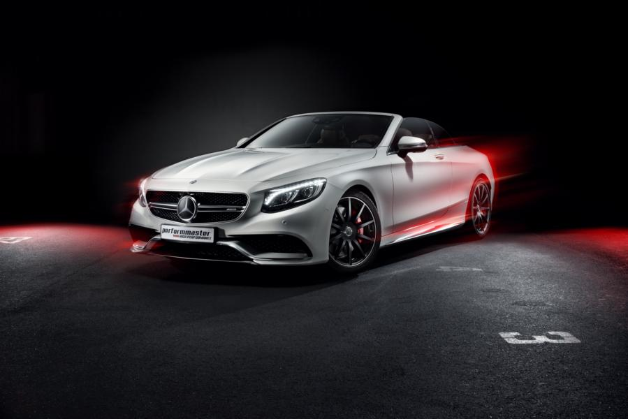 Performmaster Mercedes A217 S63 AMG Coupe Chiptuning 3 320km/h im Mercedes S63 AMG Cabrio (A217) von Performmaster