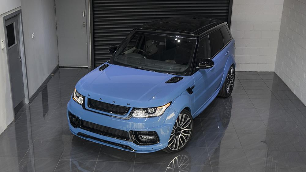 Powder Blue Pearl Project Kahn Design Range Rover Tuning 4 Kahn Range Rover Sport 4.4 SDV8 Autobiography Dynamic Pace Car
