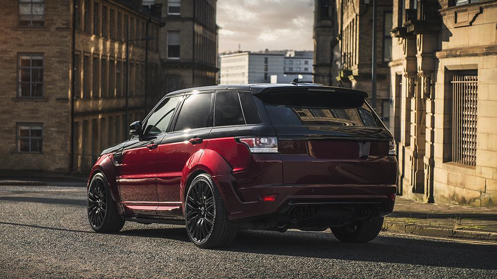 Project Kahn Black Red Range Rover Sport Pace Car 2018 1 Kahn Range Rover Sport 4.4 SDV8 Autobiography Dynamic Pace Car