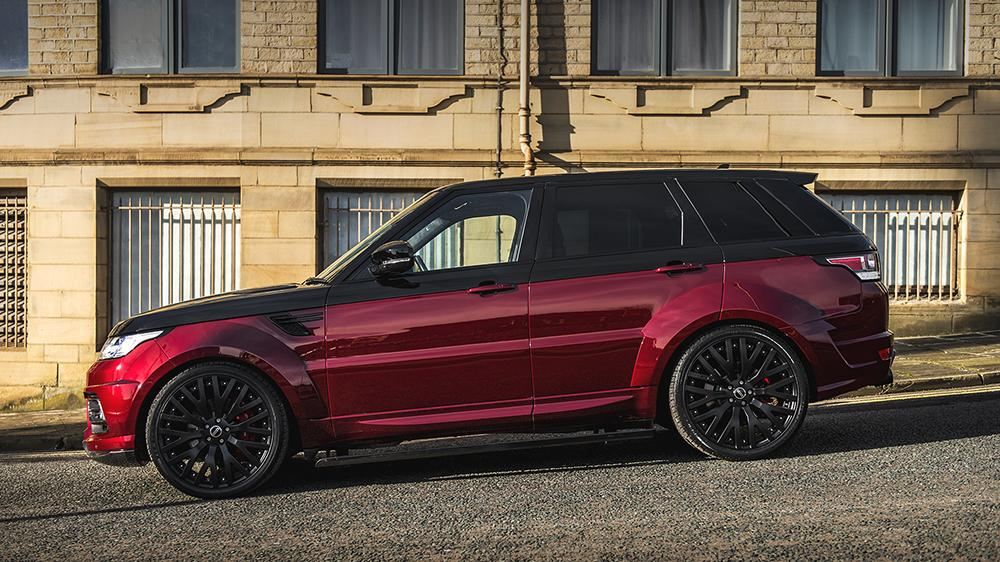 Project Kahn Black Red Range Rover Sport Pace Car 2018 2 Kahn Range Rover Sport 4.4 SDV8 Autobiography Dynamic Pace Car