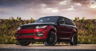 Project Kahn Black Red Range Rover Sport Pace Car 2018 3 310x165 Kahn Range Rover Sport 4.4 SDV8 Autobiography Dynamic Pace Car