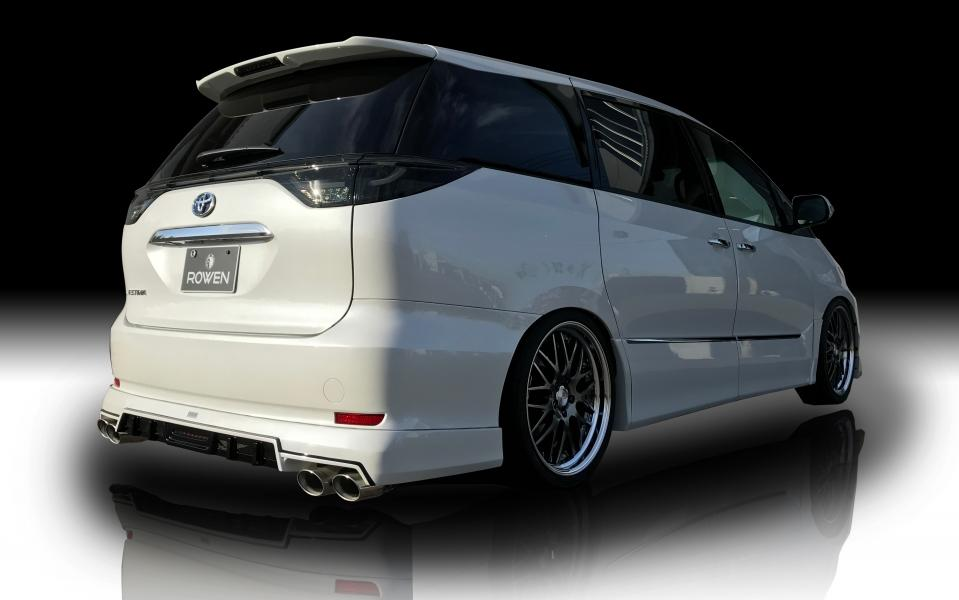 Rowen International Toyota Estima Bodykit 8 Rowen International   Toyota Estima mit rundum Bodykit