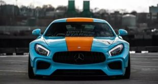 STARKE Widebody Kit Gulf Folierung Mercedes AMG GTs Tuning 32 310x165 Neuer Style Chevrolet Camaro 1LE in Mattrot & AG Wheels
