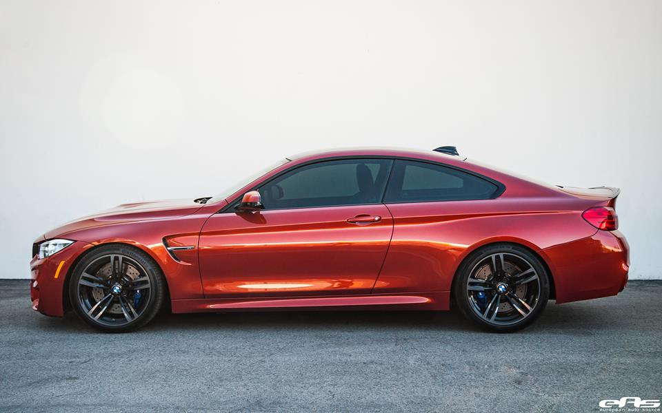 Sakhir Orange BMW M4 F82 Coupe Tuning 1 Sakhir Orange lackiertes BMW M4 F82 Coupe vom Tuner EAS