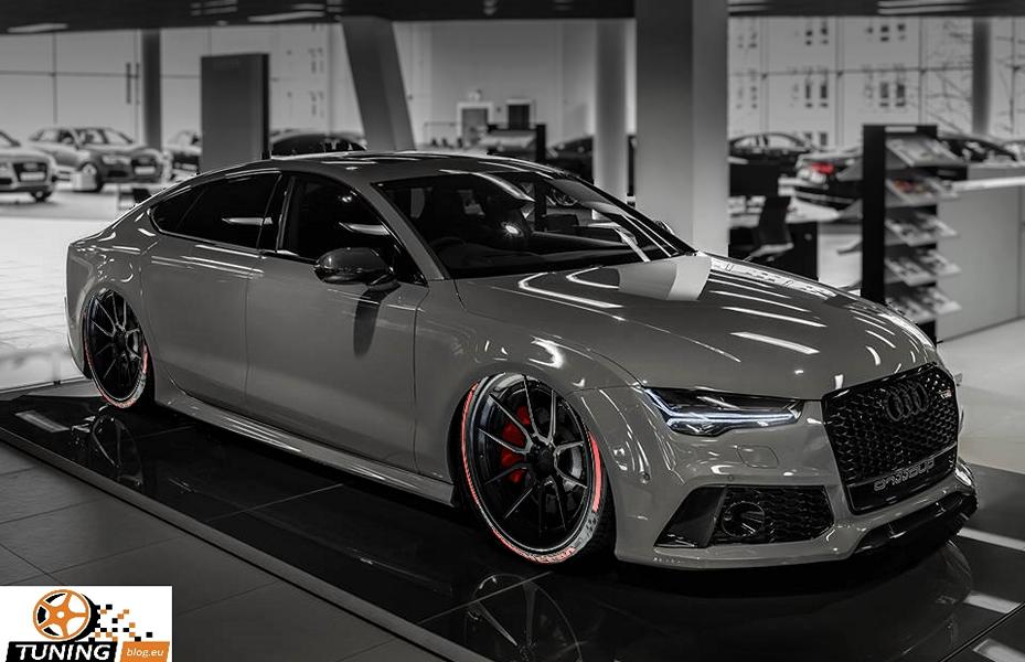 Slammed Audi A7 Rs7 Auf Adv 1 Wheels By Tuningblog Eu Tuningblog Eu Magazin