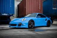 Techart Porsche 997 Facelift Tuning Vossen VWS 3 10 190x127 Vossen Wheels VWS 3 Alu's am Porsche 911 (997) Turbo