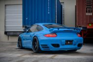 Techart Porsche 997 Facelift Tuning Vossen VWS 3 11 190x127 Vossen Wheels VWS 3 Alu's am Porsche 911 (997) Turbo