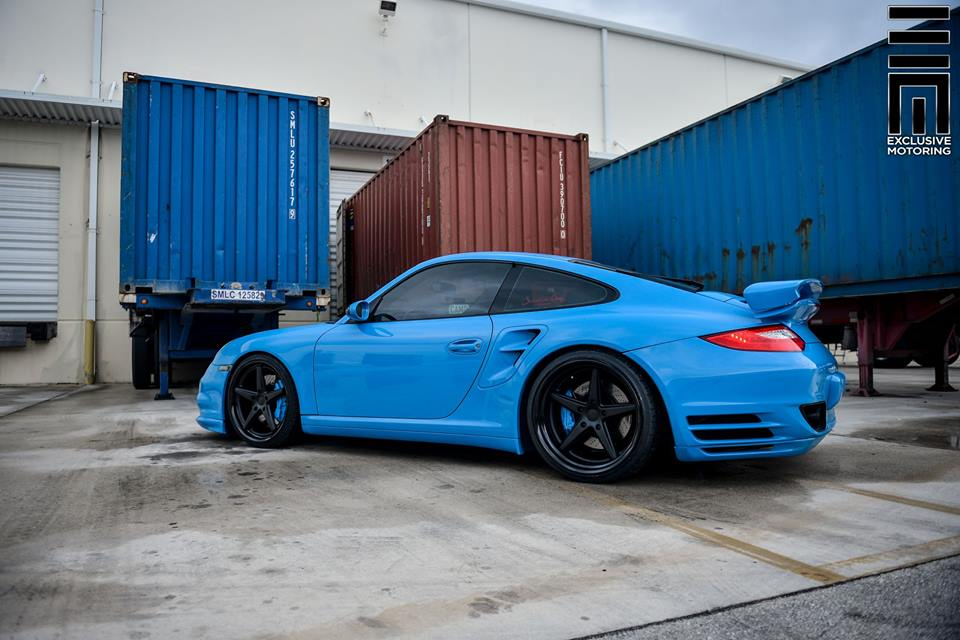 Techart Porsche 997 Facelift Tuning Vossen VWS 3 15 Vossen Wheels VWS 3 Alu's am Porsche 911 (997) Turbo