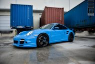 Techart Porsche 997 Facelift Tuning Vossen VWS 3 2 190x127 Vossen Wheels VWS 3 Alu's am Porsche 911 (997) Turbo