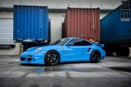 Techart Porsche 997 Facelift Tuning Vossen VWS 3 21 190x127 Vossen Wheels VWS 3 Alu's am Porsche 911 (997) Turbo