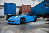 Techart Porsche 997 Facelift Tuning Vossen VWS 3 3 190x127 Vossen Wheels VWS 3 Alu's am Porsche 911 (997) Turbo