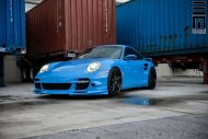 Techart Porsche 997 Facelift Tuning Vossen VWS 3 4 190x127 Vossen Wheels VWS 3 Alu's am Porsche 911 (997) Turbo