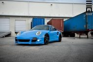 Techart Porsche 997 Facelift Tuning Vossen VWS 3 8 190x127 Vossen Wheels VWS 3 Alu's am Porsche 911 (997) Turbo