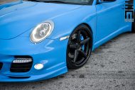 Techart Porsche 997 Facelift Tuning Vossen VWS 3 9 190x127 Vossen Wheels VWS 3 Alu's am Porsche 911 (997) Turbo