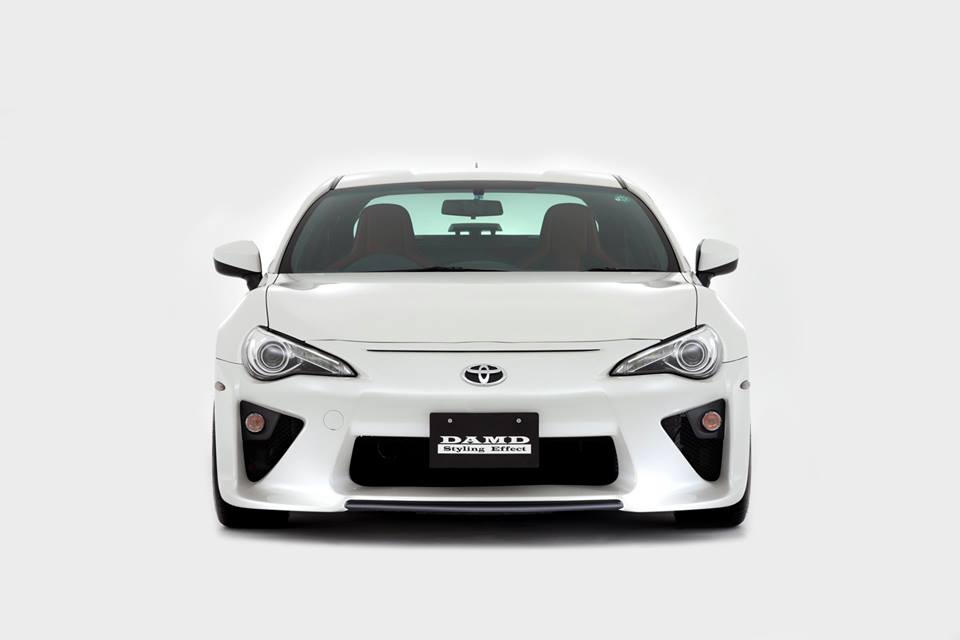 toyota gt86 tuning body kit turbo conversion by damd 1. Black Bedroom Furniture Sets. Home Design Ideas