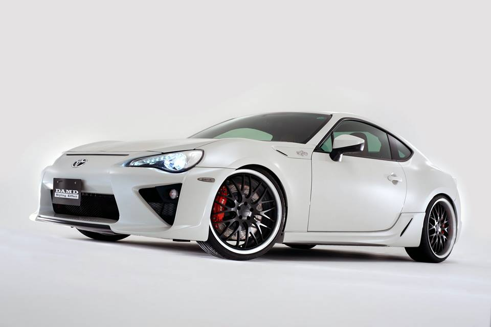 Full Program Toyota Gt86 By Japanese Tuner Damd