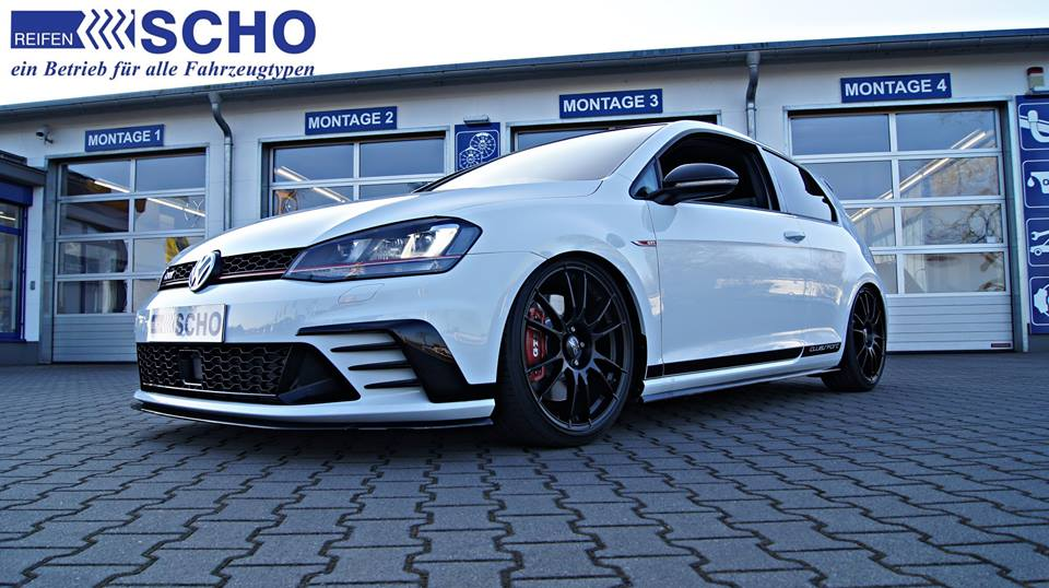 vw golf gti 7 clubsport kw v3 chassis oz alu 39 s magazine. Black Bedroom Furniture Sets. Home Design Ideas