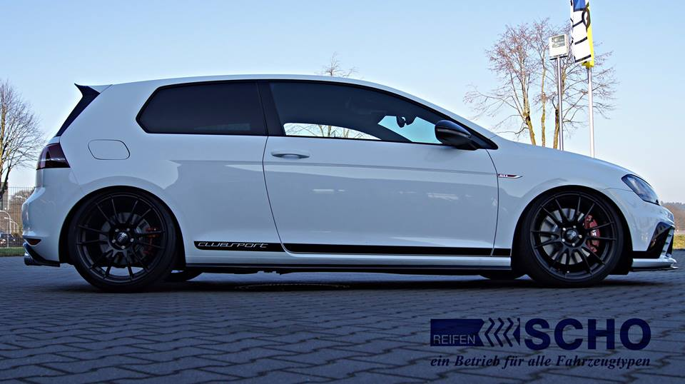 vw golf 7 gti clubsport mit kw v3 fahrwerk oz alu s magazin. Black Bedroom Furniture Sets. Home Design Ideas