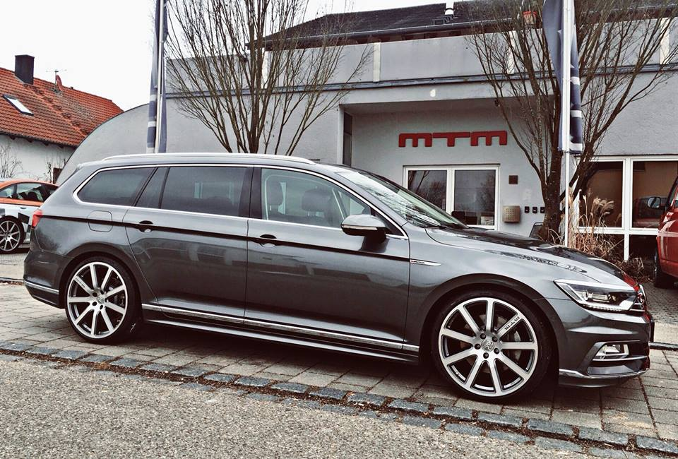Mtm Vw Passat Variant B8 On 20 Inches And 350ps Amp 425nm