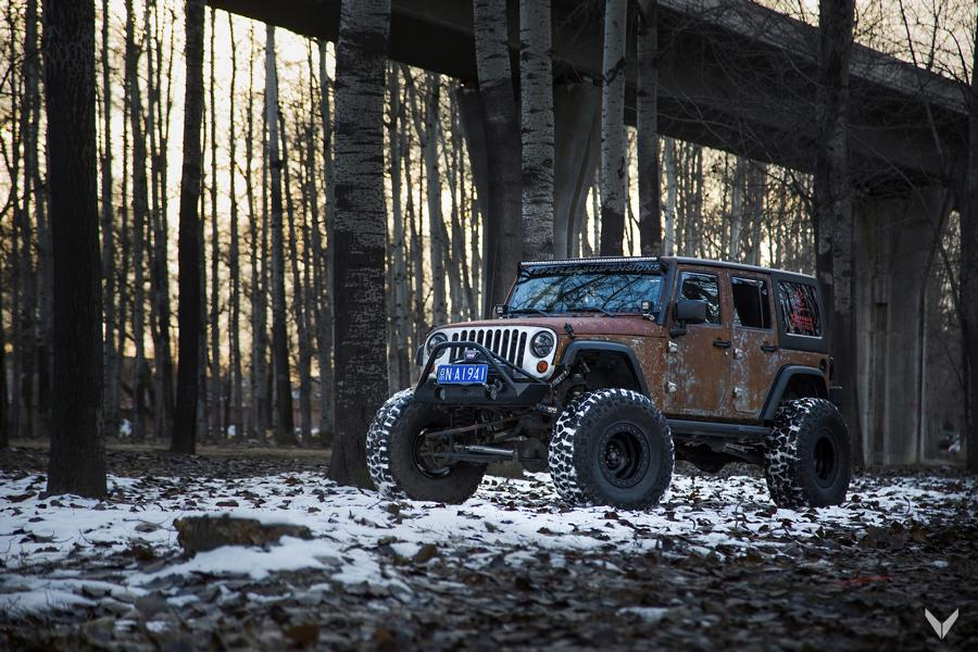 Jeep Wrangler Paint >> Vilner Jeep Wrangler Unlimited Hunting - rat with Style - tuningblog.eu - Magazine