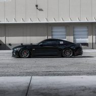 Vorsteiner V FF 107 Ford Mustang Airride Tuning 3 190x190 Knallgelber Ford Mustang GT auf Vorsteiner V FF 107 Felgen