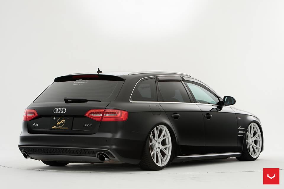 vossen vfs 6 airride audi a4 avant b8 tuning 3. Black Bedroom Furniture Sets. Home Design Ideas