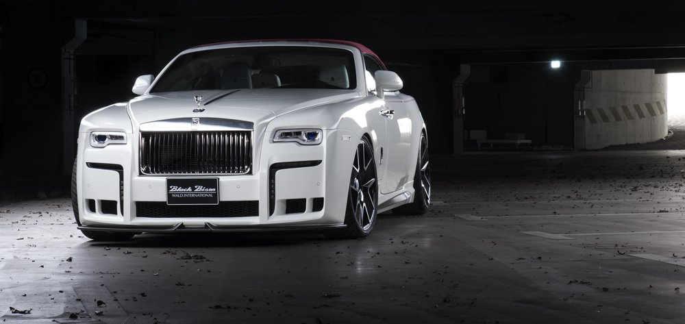 Wald Black Bison Rolls Royce Dawn 10 Wald Internationale Black Bison Bodykit am Rolls Royce Dawn