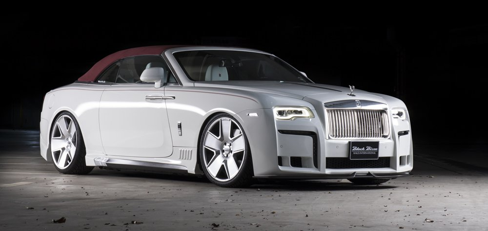 Wald Black Bison Rolls Royce Dawn 5 Wald Internationale Black Bison Bodykit am Rolls Royce Dawn