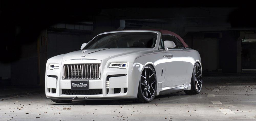 Wald Black Bison Rolls Royce Dawn 6 Wald Internationale Black Bison Bodykit am Rolls Royce Dawn