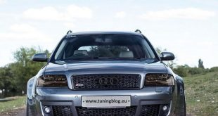 Widebody Audi RS6 C5 Avant Tuning 310x165 Audi RS6 C5 Avant Widebody mit C7 Scheinwerfern by tuningblog