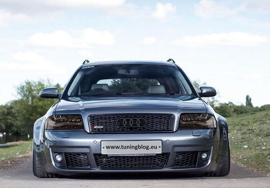Audi Rs6 C5 Avant Wide Body By C7 With Headlights Tuning