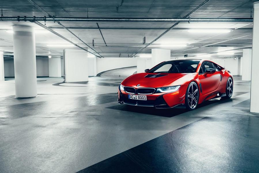 Perfectly Rounded Ac Schnitzer Puts The Bmw I8 Repositioning