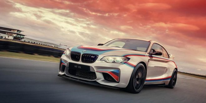 Rendering: 2017 BMW M2 F87 CSL Coupe by Monholo Oumar