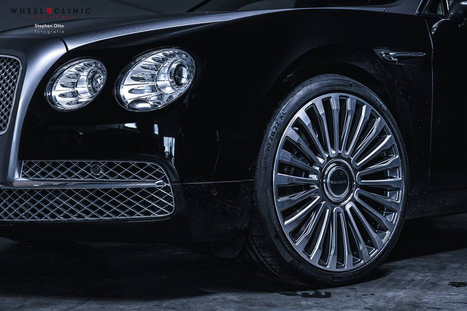 22 Zoll Mansory Felgen Bentley Flying Spur by Wheelclinic 1 22 Zoll Mansory Felgen am Bentley Flying Spur von Wheelclinic