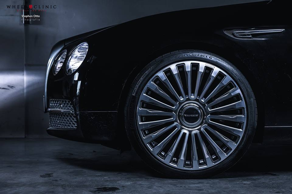 22 Zoll Mansory Felgen Bentley Flying Spur by Wheelclinic 3 22 Zoll Mansory Felgen am Bentley Flying Spur von Wheelclinic