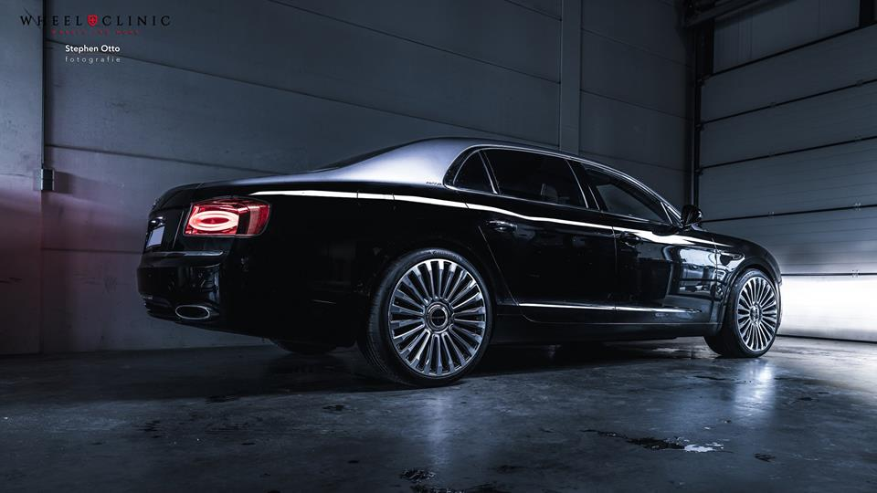 22 Zoll Mansory Felgen Bentley Flying Spur by Wheelclinic 4 22 Zoll Mansory Felgen am Bentley Flying Spur von Wheelclinic