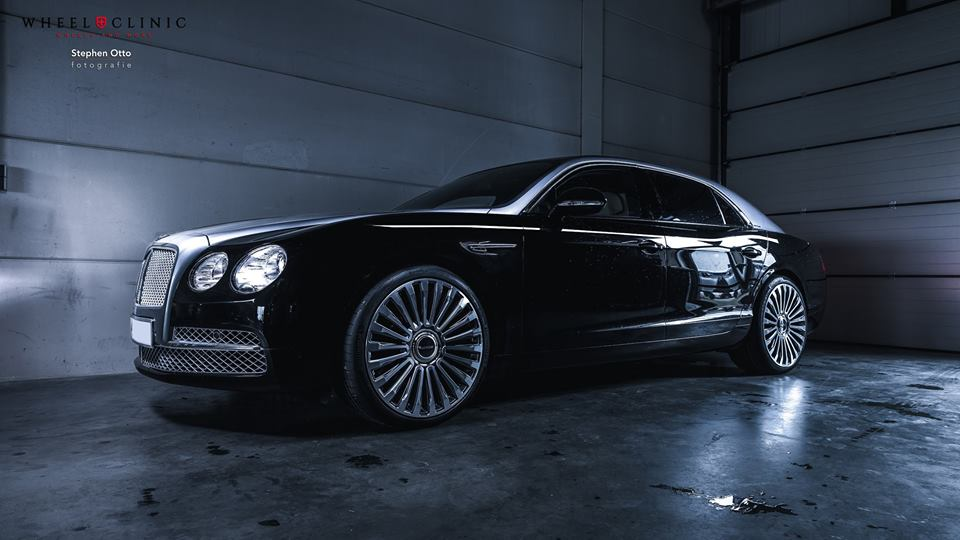 22 Zoll Mansory Felgen Bentley Flying Spur by Wheelclinic 5 22 Zoll Mansory Felgen am Bentley Flying Spur von Wheelclinic
