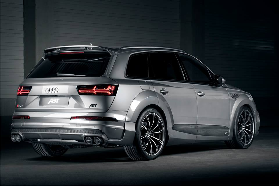 ABT Sportsline Widebody Audi SQ7 2017 Tuning 4 ABT Sportsline Widebody Audi SQ7 mit 520PS & 970NM