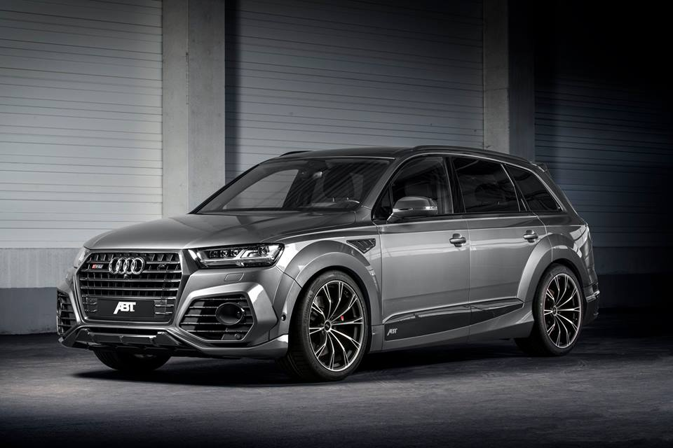 ABT Sportsline Widebody Audi SQ7 2017 Tuning 5 ABT Sportsline Widebody Audi SQ7 mit 520PS & 970NM